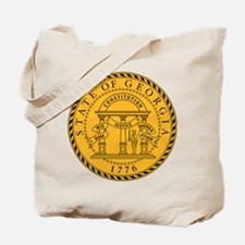 Georgia State Seal Tote Bag