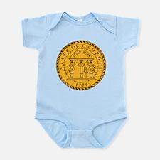 Georgia State Seal Infant Bodysuit