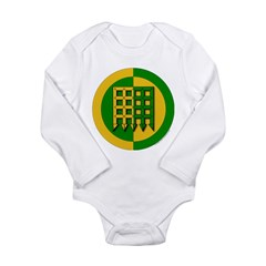 Unser Hafen Populace Long Sleeve Infant Bodysuit