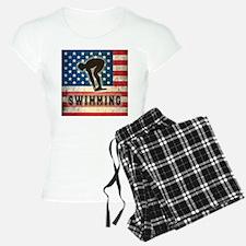 Grunge USA Swimming Pajamas