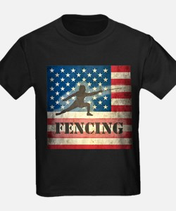 Grunge USA Fencing T