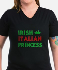 irish_italian_princess_blackT T-Shirt