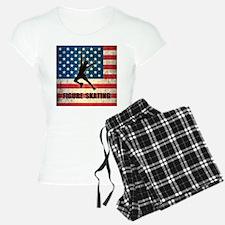 Grunge USA Figure Skating Pajamas