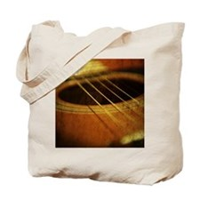 Vintage Guitar Tote Bag