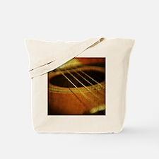 Vintage Guitar Tote Bag