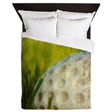 Vintage Golf Ball Queen Duvet