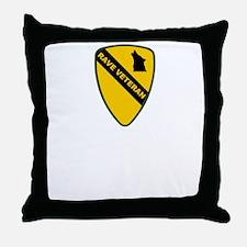 Rave Veteran Throw Pillow