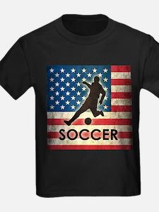 Grunge USA Soccer T