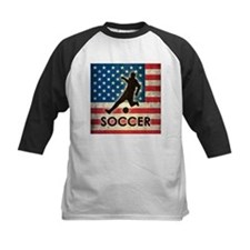 Grunge USA Soccer Tee