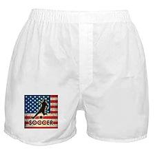 Grunge USA Soccer Boxer Shorts