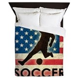 American football Queen Duvet Covers