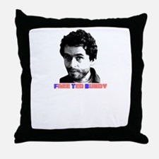 Free Ted Bundy Throw Pillow
