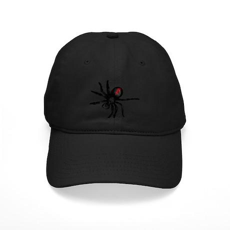 Redback Spider, Black Widow Black Cap