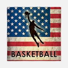 Grunge USA Basketball Queen Duvet
