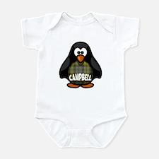 Campbell Tartan Penguin Infant Bodysuit