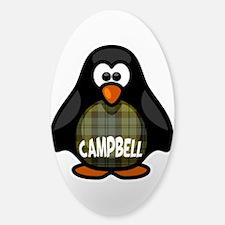 Campbell Tartan Penguin Decal