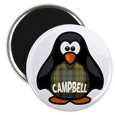 Campbell Tartan Penguin Magnet