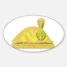 3rd Infantry (The Old Guard) Sticker (Oval)