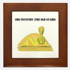3rd Infantry (The Old Guard) with Text Framed Tile