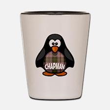 Chapman Tartan Penguin Shot Glass