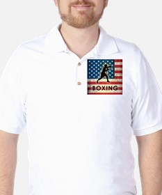 Grunge USA Boxing T-Shirt