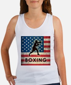 Grunge USA Boxing Women's Tank Top