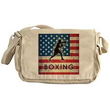 Grunge USA Boxing Messenger Bag