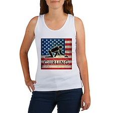 Grunge USA Curling Women's Tank Top