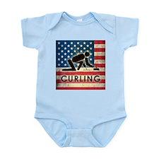Grunge USA Curling Infant Bodysuit