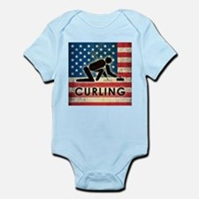 Grunge USA Curling Infant Bodysuit