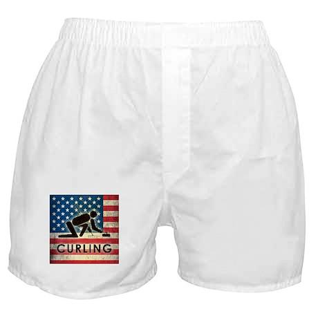 Grunge USA Curling Boxer Shorts