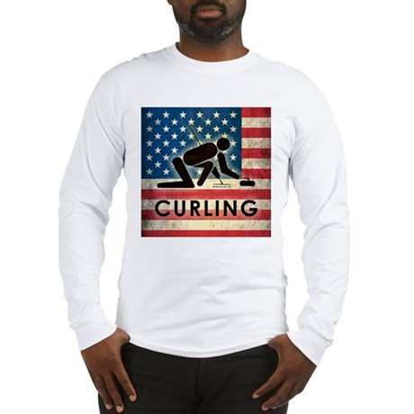 Grunge USA Curling Long Sleeve T-Shirt