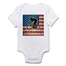 Grunge USA Cycling Infant Bodysuit