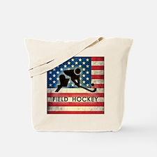 Grunge USA Field Hockey Tote Bag
