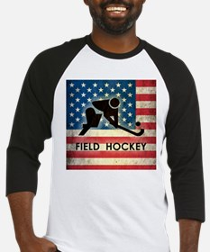 Grunge USA Field Hockey Baseball Jersey