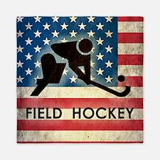 Grunge USA Field Hockey Queen Duvet