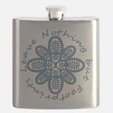 Leave Nothing Boot Blu Blk Flask