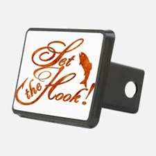 Set the Hook Rust Hitch Cover