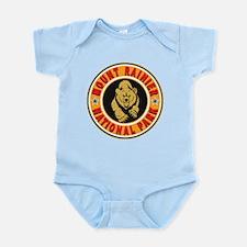 Mt Rainier Gold Circle Infant Bodysuit