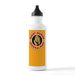 Mt Rainier Gold Circle Water Bottle