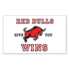 Red Bulls Give You Wins Decal