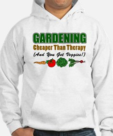 Gardening Cheaper Than Therapy Hoodie Sweatshirt