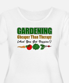 Gardening Cheaper Than Therapy T-Shirt