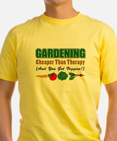 Gardening Cheaper Than Therapy T