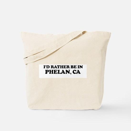 Rather: PHELAN Tote Bag