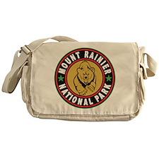 Mt Rainier Black Circle Messenger Bag