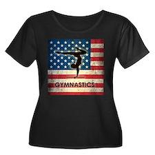 Grunge USA Gymnastics T