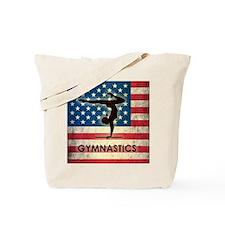 Grunge USA Gymnastics Tote Bag