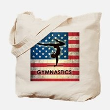 Grunge USA Gymnastics Tote Bag