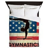 Usa gymnastics Luxe Full/Queen Duvet Cover